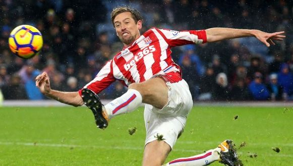 Peter Crouch – Trying hard for New Season